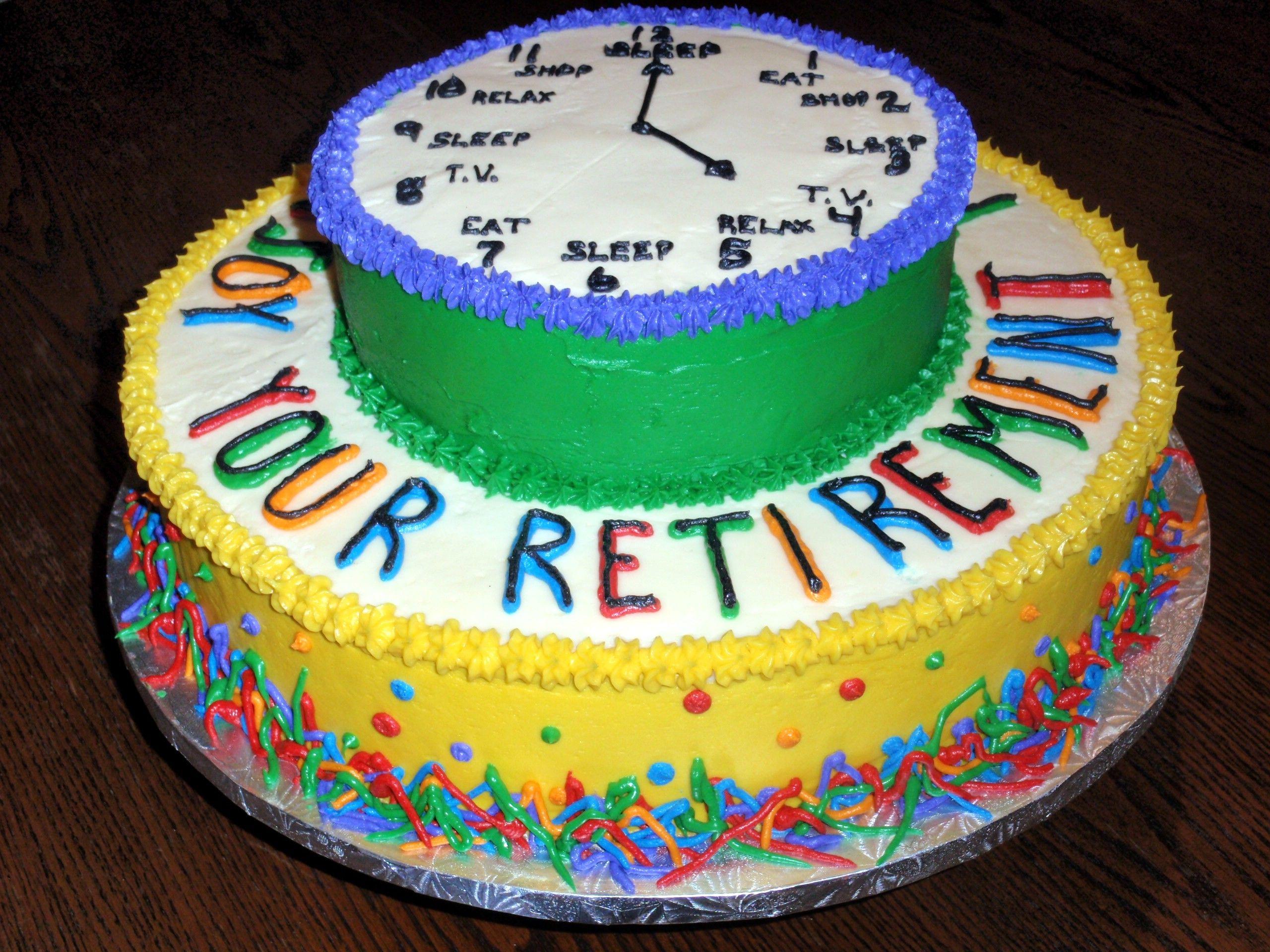 Retirement Cake