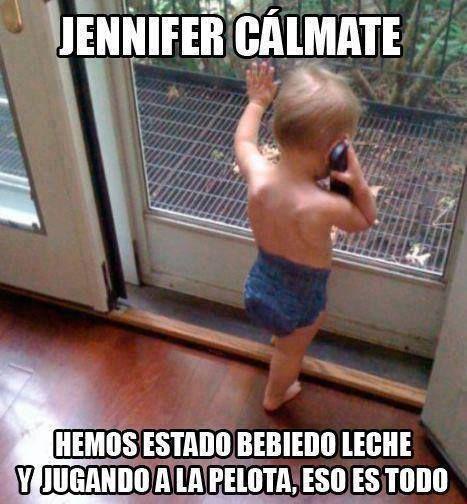 Jennifer cálmate - Por Raúl García Cortés