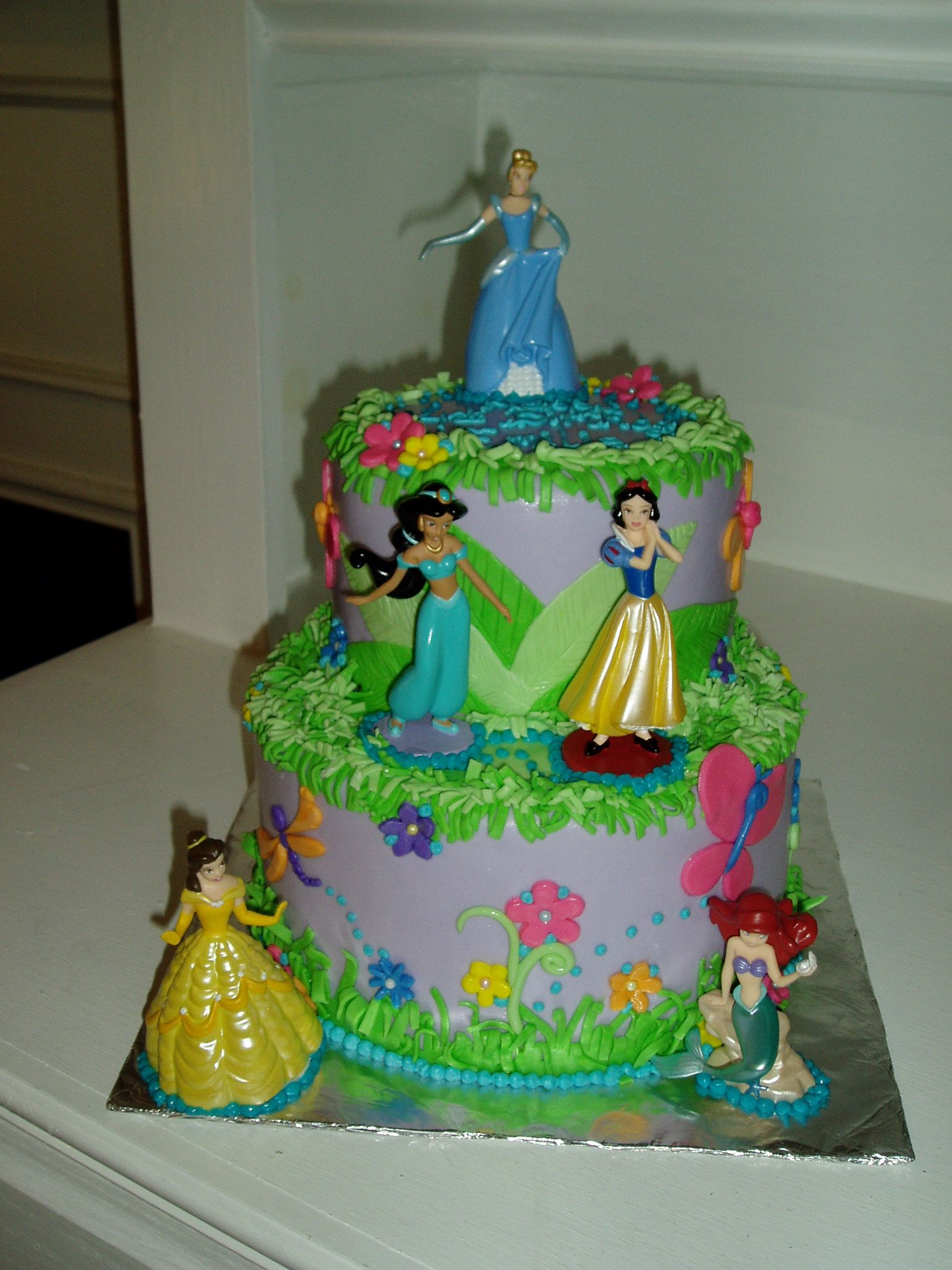 Disney Princess Cake Ideas Pinterest