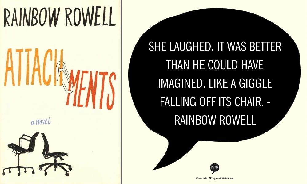 Image result for attachments rainbow rowell quotes