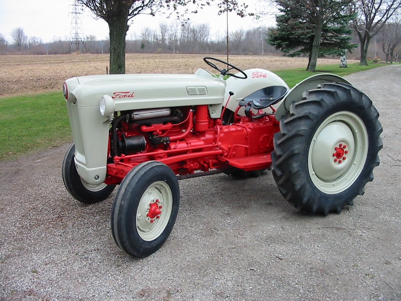Tractor Paint Color Silver
