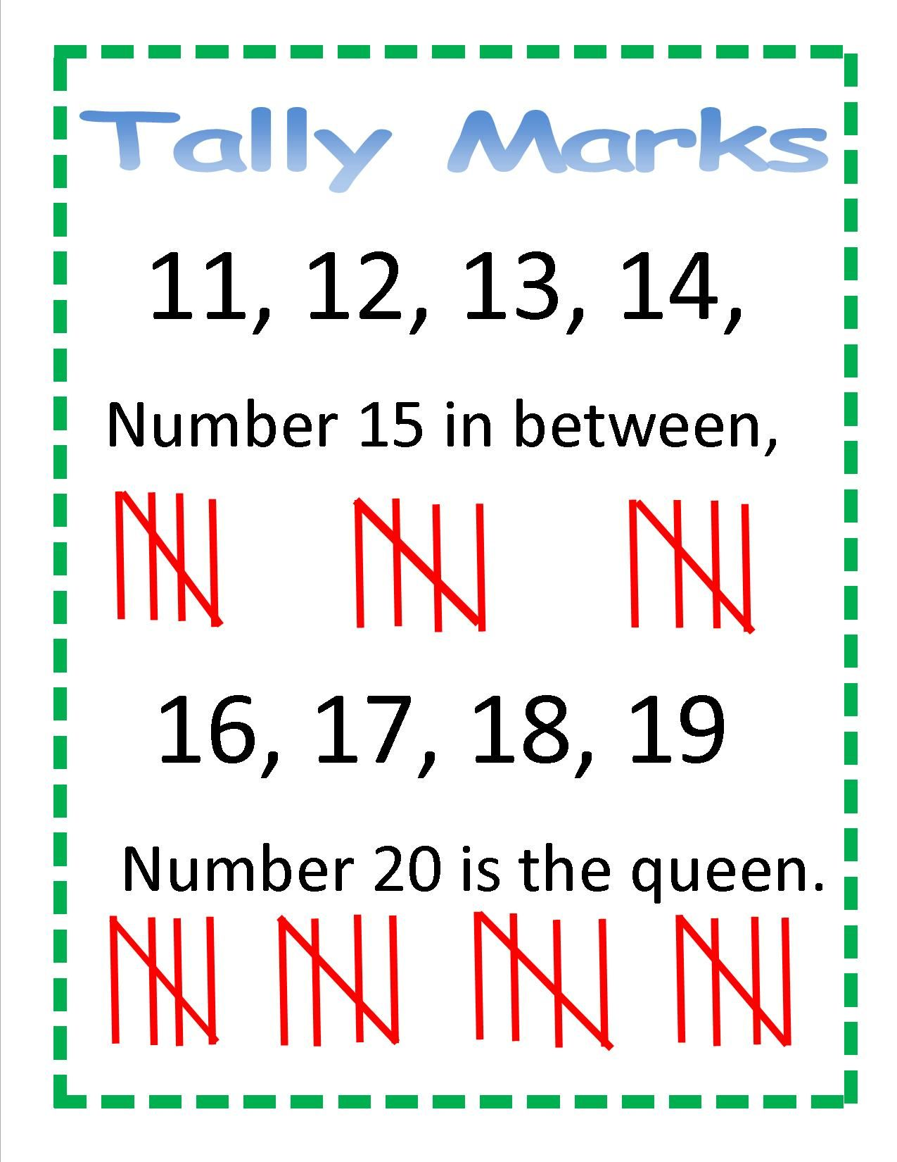 Pin By Amanda Stenger On Tally Marks