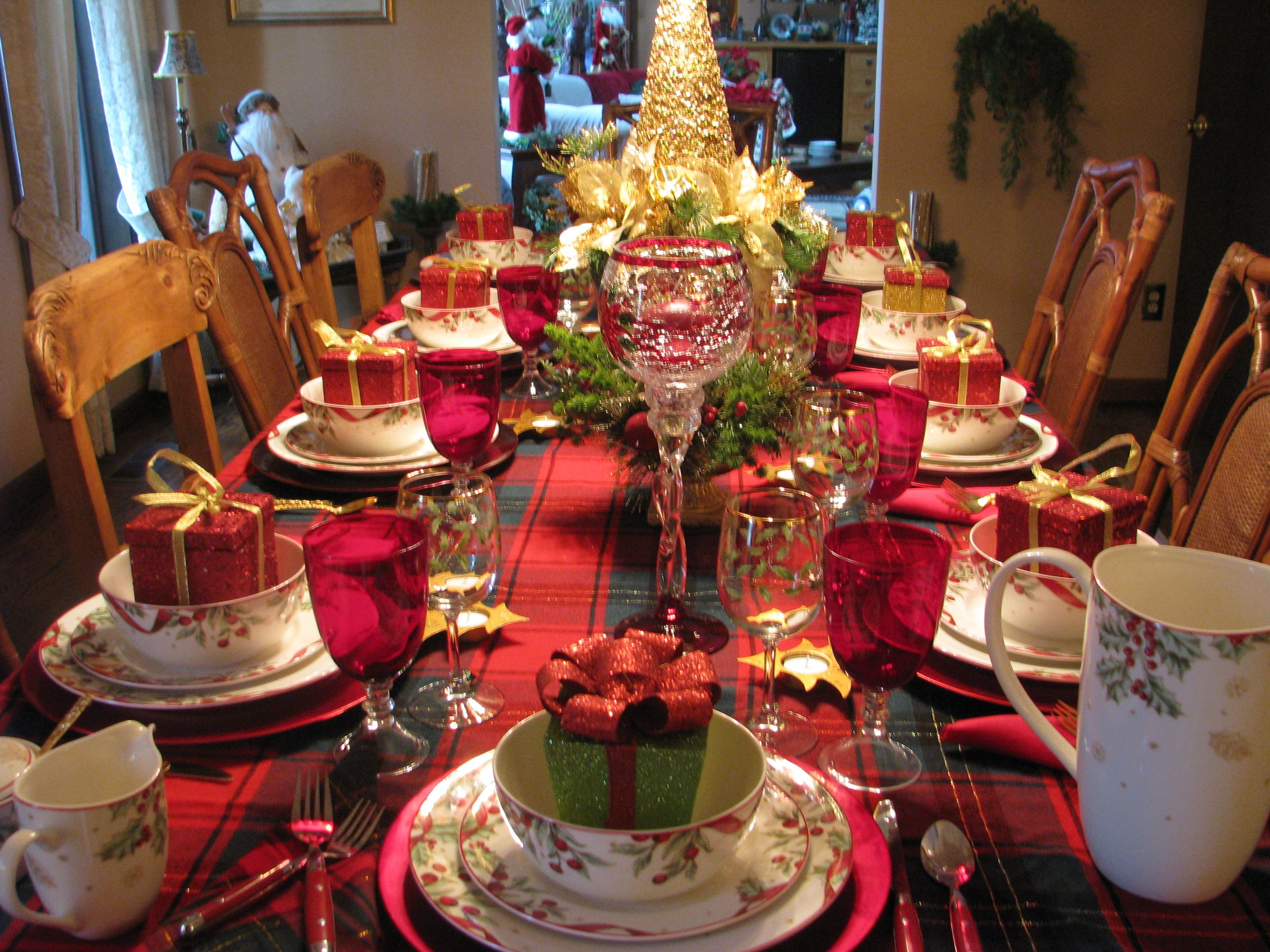 Christmas..Tablescapes