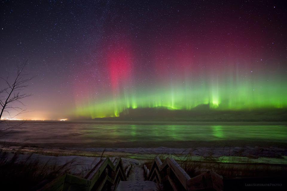 Northern Lights Marquette Mi