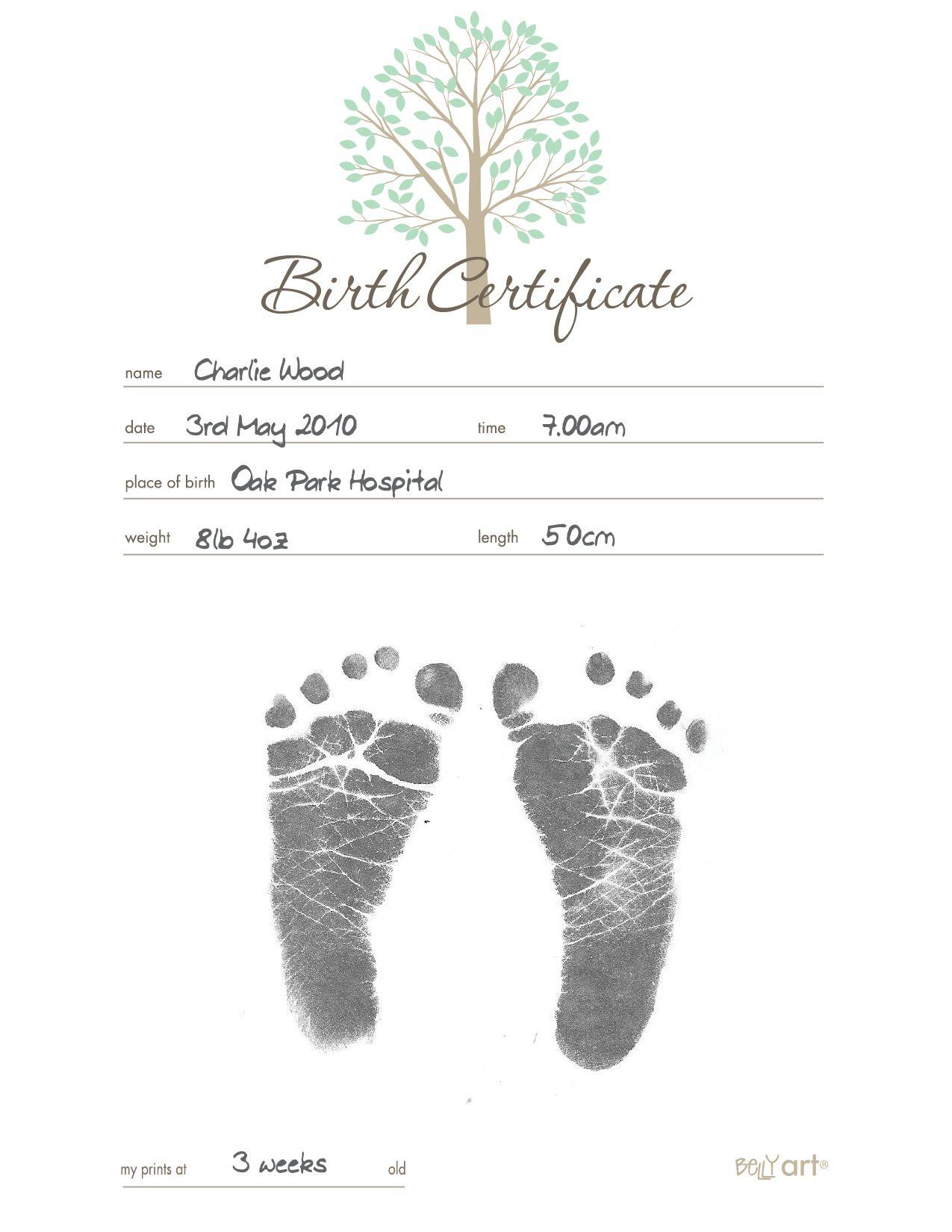 Blank Birth Certificate Georgia