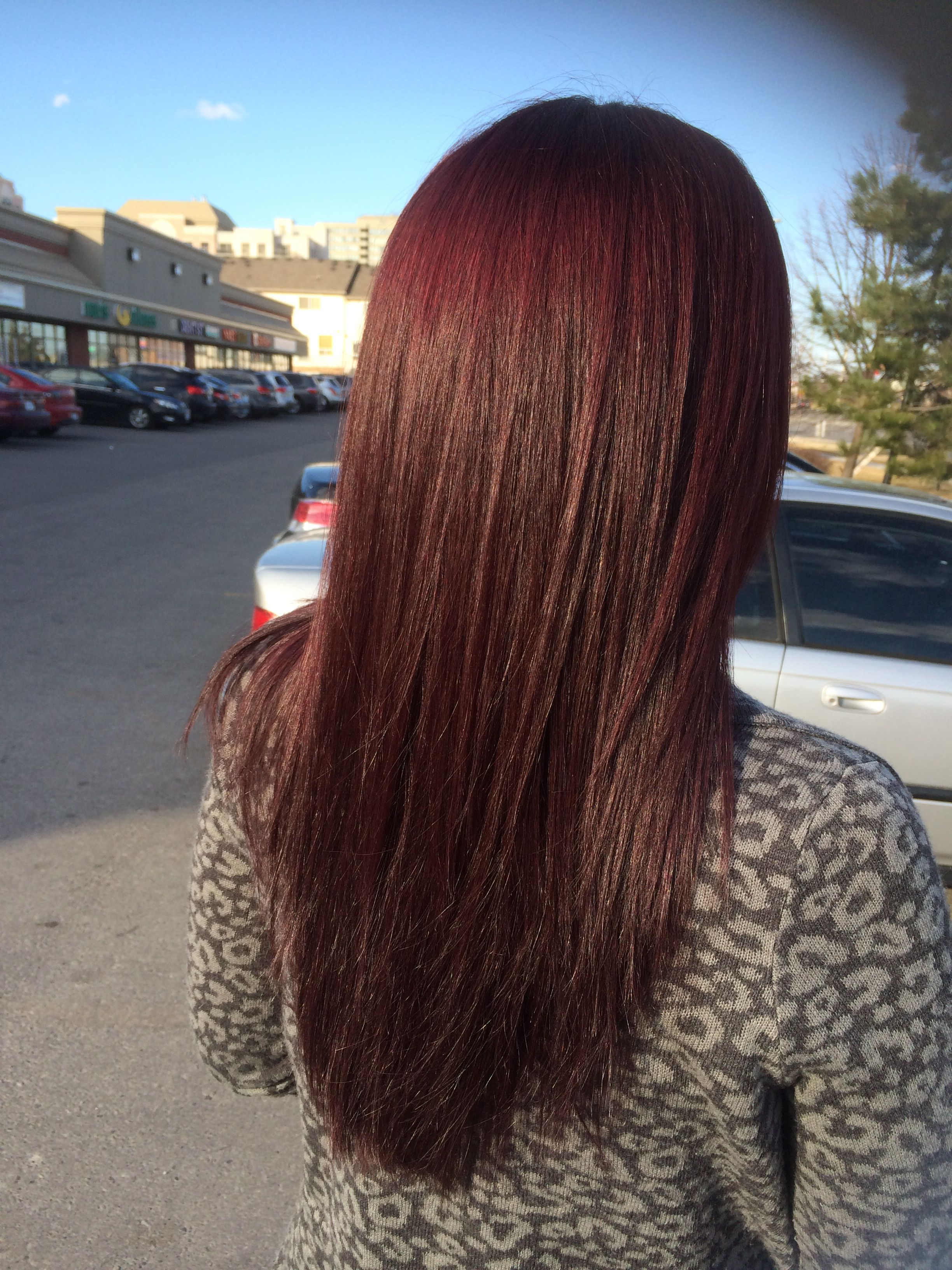 Mahogany Red Hair Color Chart Ideas Pictures Latest Style