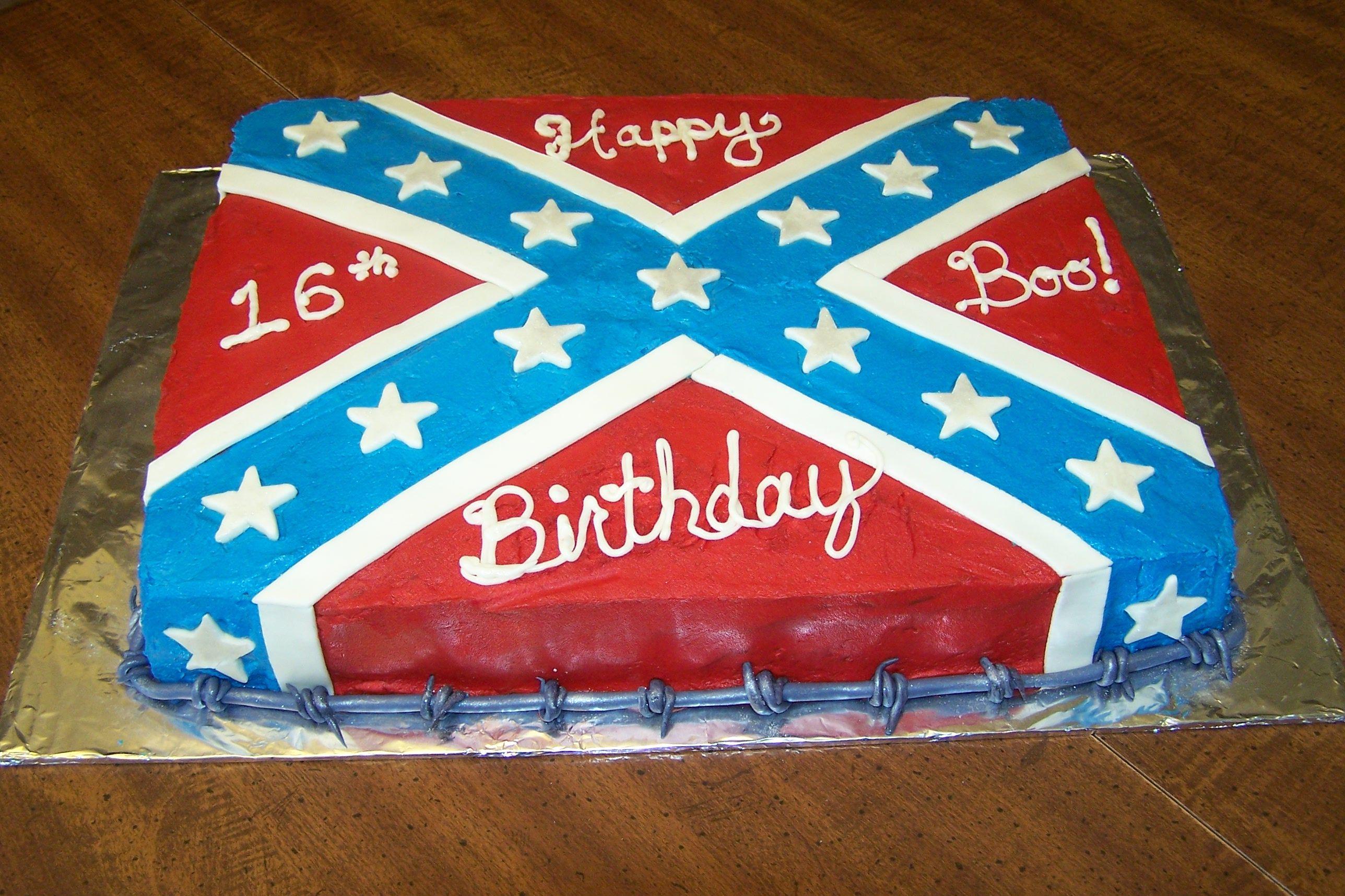 Rebel Flag Camo Cake Ideas And Designs