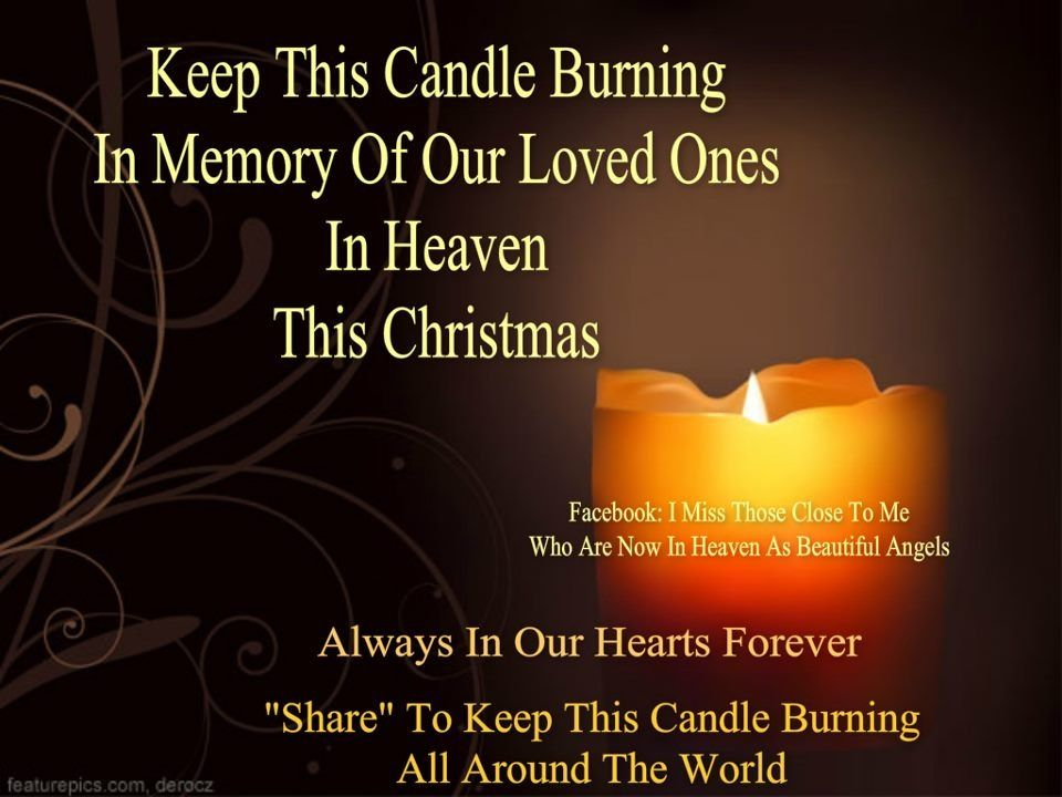 Download Burning candle | Canadian - In memory of you. | Pinterest