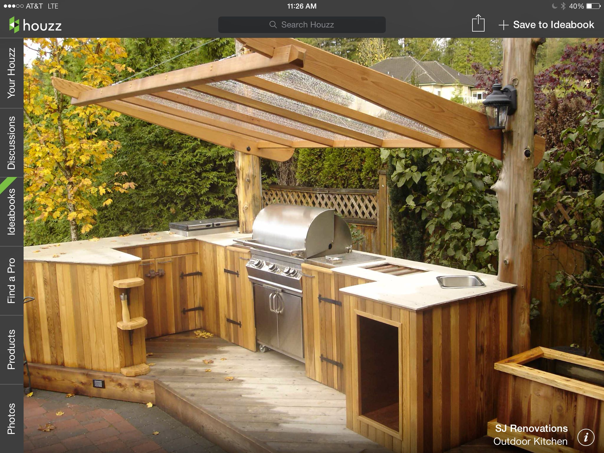 simple outdoor kitchen next house ideas pinterest on outdoor kitchen easy id=51415