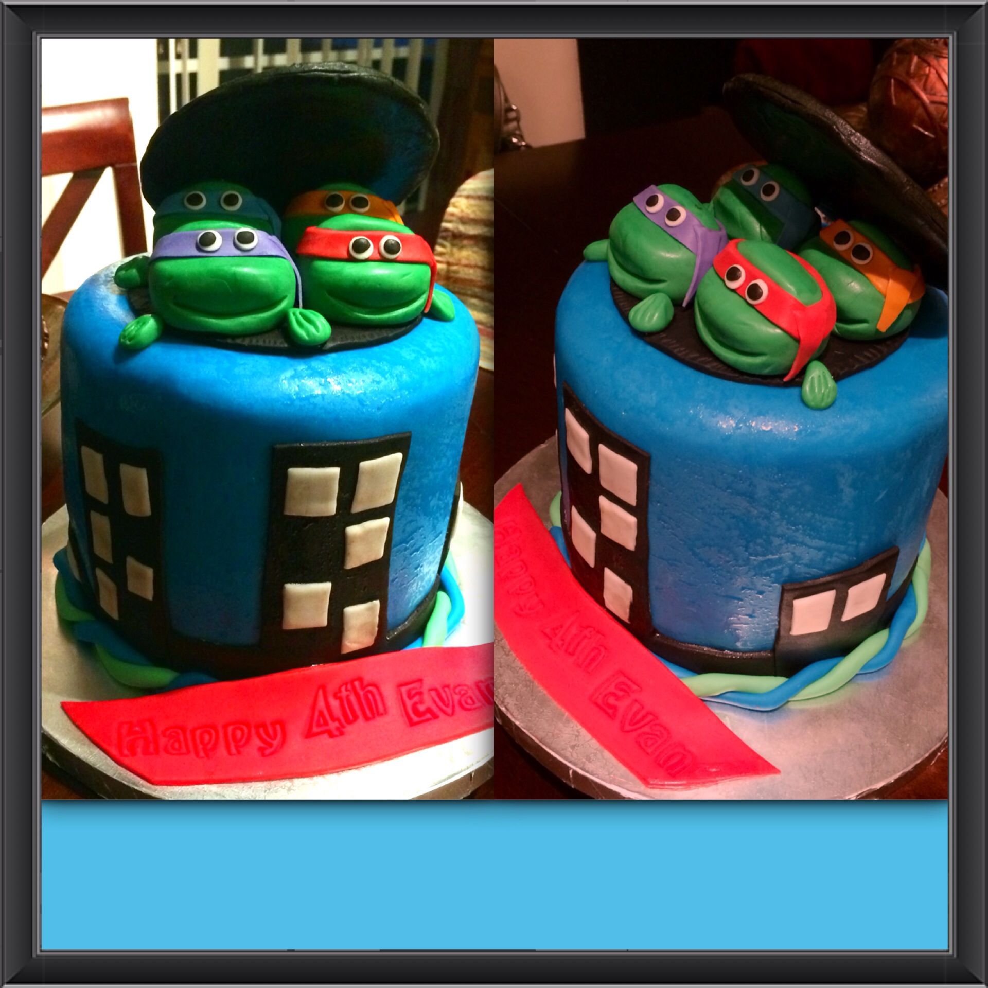 Ninja Cake Ideas Images