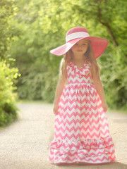 Max Dress Sewing pattern for little girls!