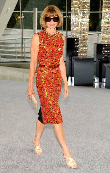 2012 CFDA Awards red carpet  Anna Wintour in Marc Jacobs