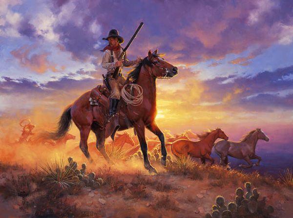 Jack Sorenson The Horse Thief Art Western Amp Frontier