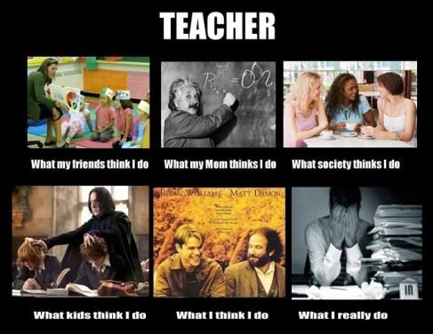 What teachers really do.