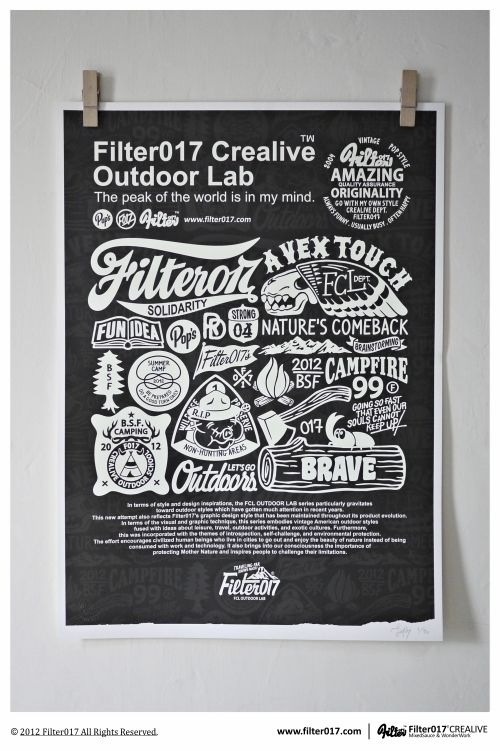 Screen Printing Poster by Filter017