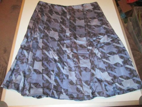 Womens Skirt Size 6 Kenneth Cole Blue Black Purple Summer Skirt EUC | eBay