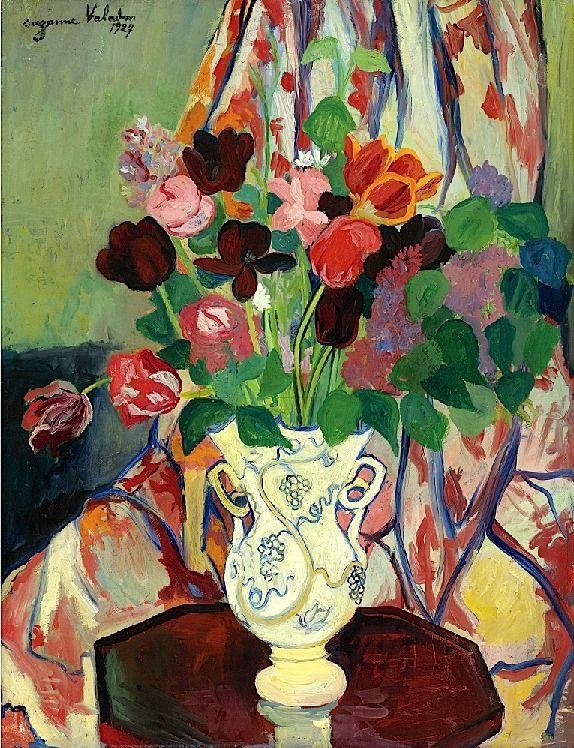 """Suzanne Valadon """"Bouquet de Tulipes"""""""