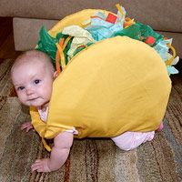 Just imagine a taco crawling across your floor...hahaha