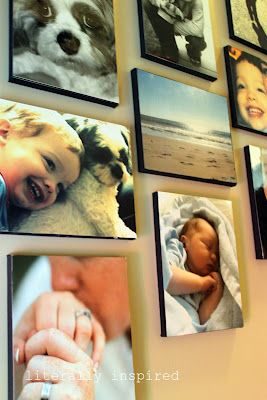 DIY Wall Canvas Photos
