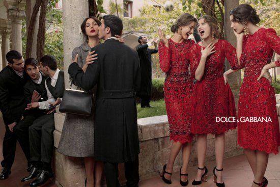 Dolce & Gabbana Fall 2013: