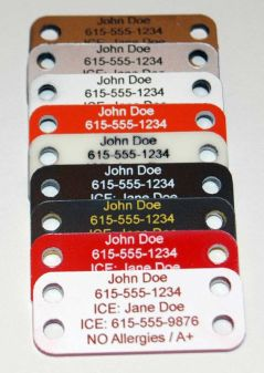 Emergency Contact Info for Kids on the Go |  Mom with a Prep {blog}