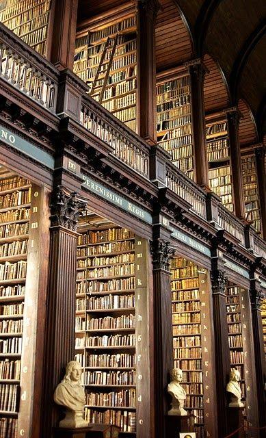 Trinità Biblioteca, Dublino, Irlanda