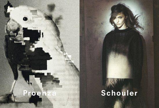 Proenza Schouler Fall 2013 Ad Campaign