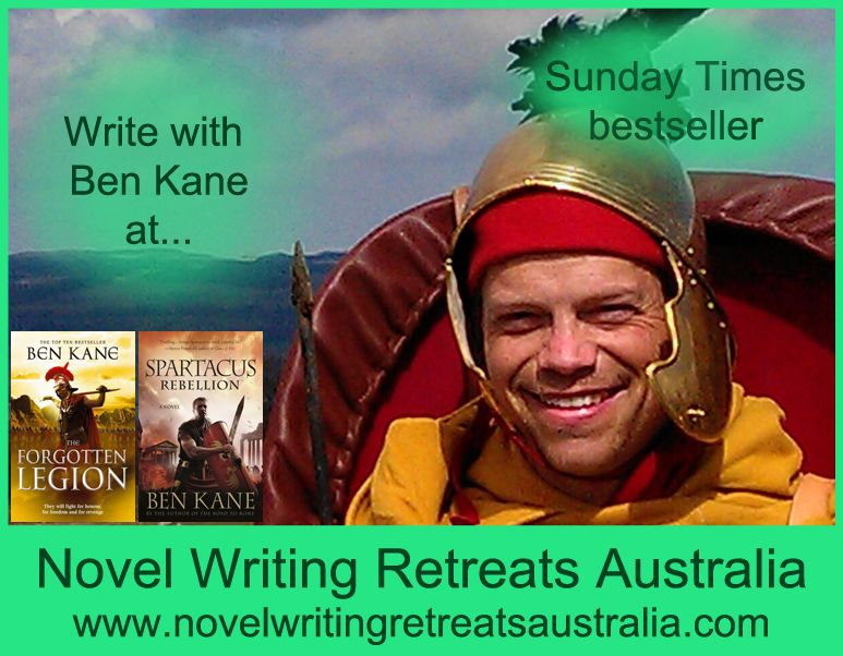 Write with Ben Kane near Hobart, Australia with Novel Writing Retreats Australia in February 2014