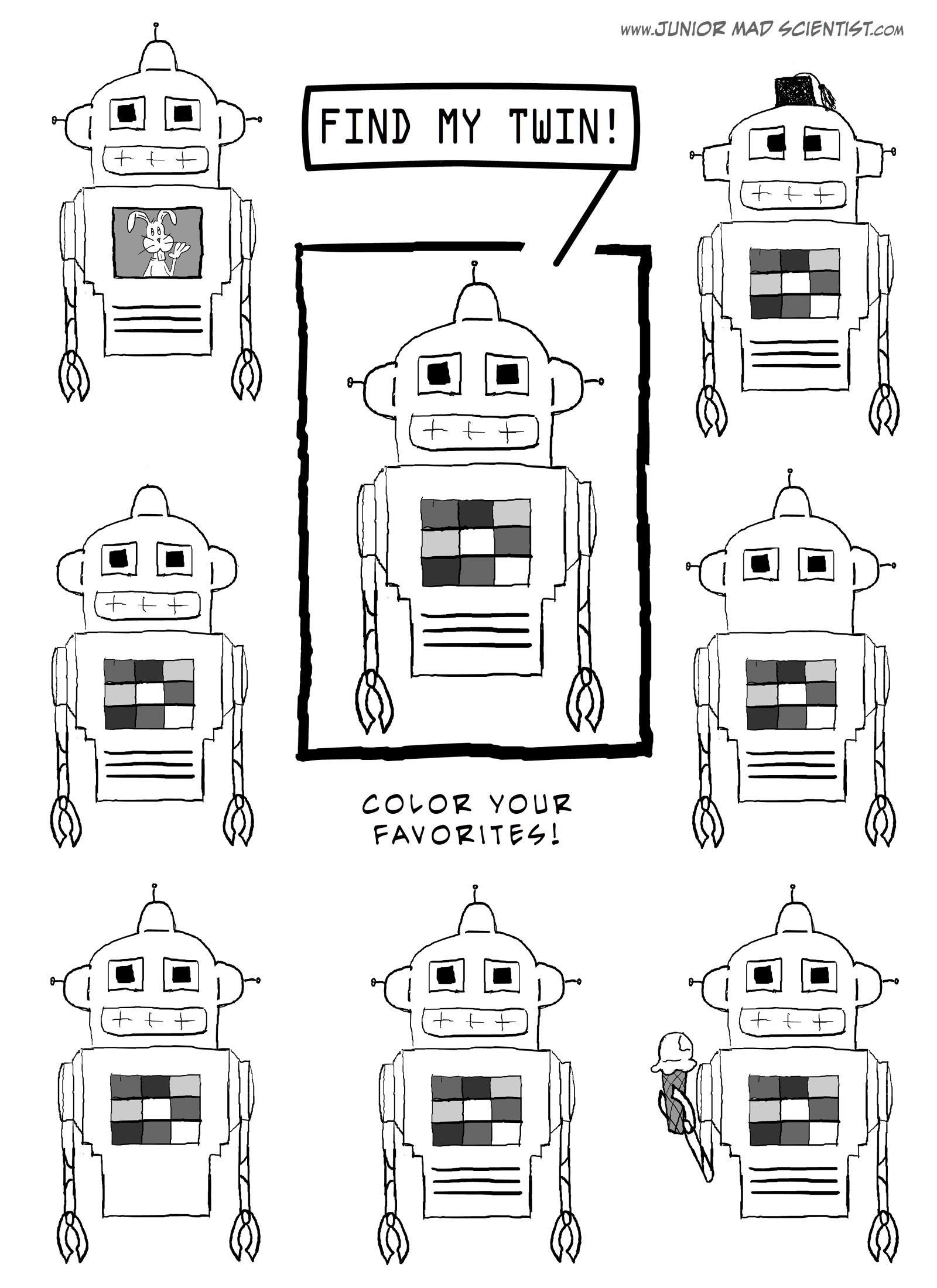 Walk In The Sunshine Robot Crafts And Printables