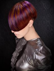 NAHA 2013 Finalist: Haircolor DeAnnalyn Teal Photographer: Keith Bryce