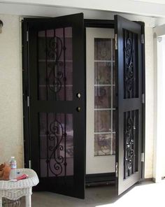 Security Doors for French and Sliding Doors