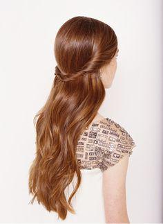 Half Up Half Down Wedding Hairstyle TUTORIAL