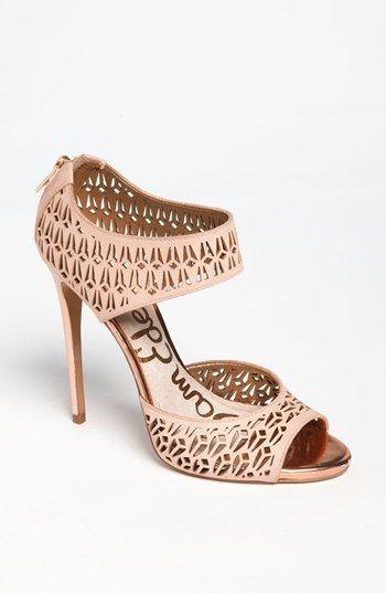 cutout sandals