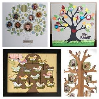 Family tree craft ideas #pinparty
