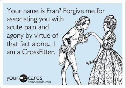 Crossfit Fran eCard