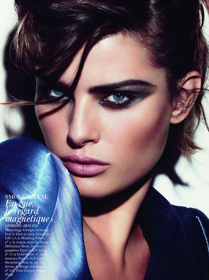 Sexy Smouldering Eye  Isabeli Fontana by Inez & Vinoodh for Vogue Paris November 2011