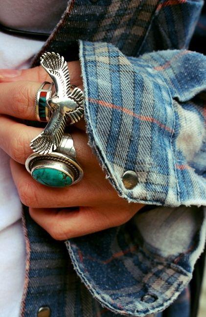 Graou Boho rings
