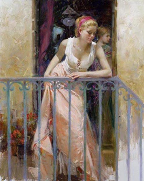 'At The Balcony'