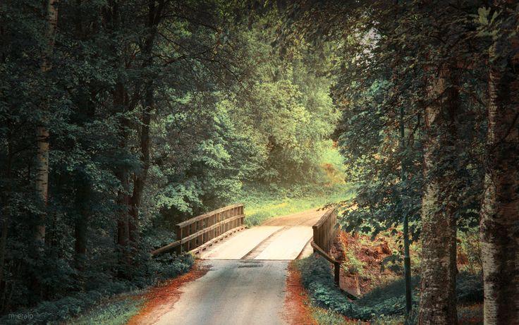 The old bridge by m-eralp.deviantar... on @deviantART