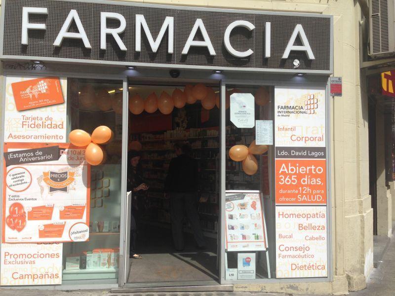 aniversario en farmacia