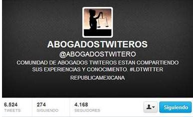Abogados twiteros, redes sociales, marketing online