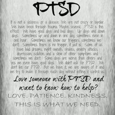PTSD...