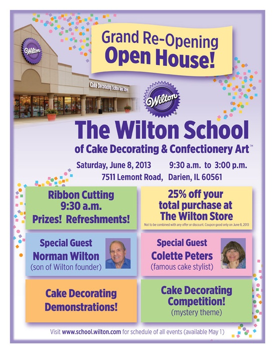 Wilton School Of Cake Decorating Confectionery Art Grand Re