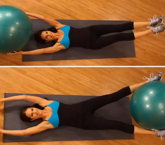 3 Challenging Abs Exercises with a Ball to Work Your Core From Every Angle - Shape Magazine