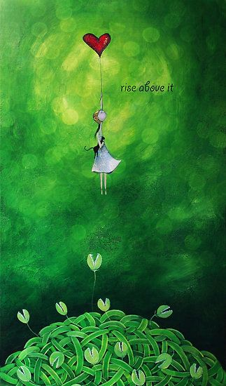 """Rise above it"" Fine Art Print by Amanda Cass"
