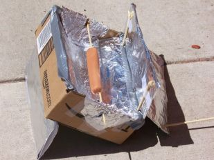 How to make a Solar Cooker with a small box | Mom with a Prep
