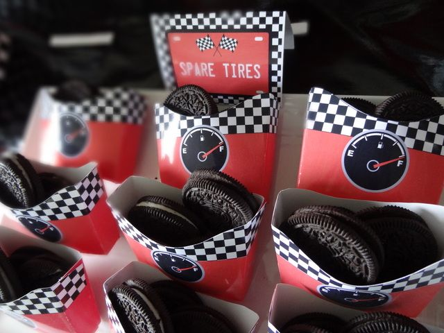 Spare Tires aka Oreos in a box!