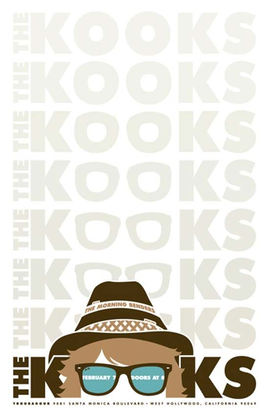 The Kooks Poster Design