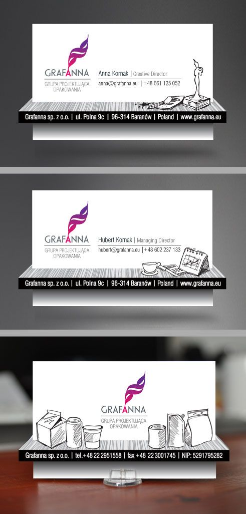 Grafanna / Optical Illusion Business Card