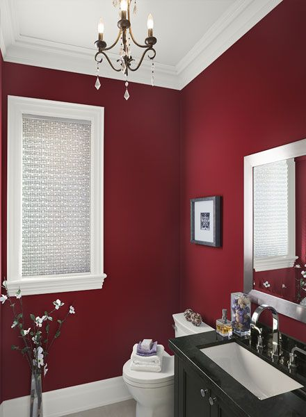 Caliente by Benjamin Moore - Favorite Red Paint Colors